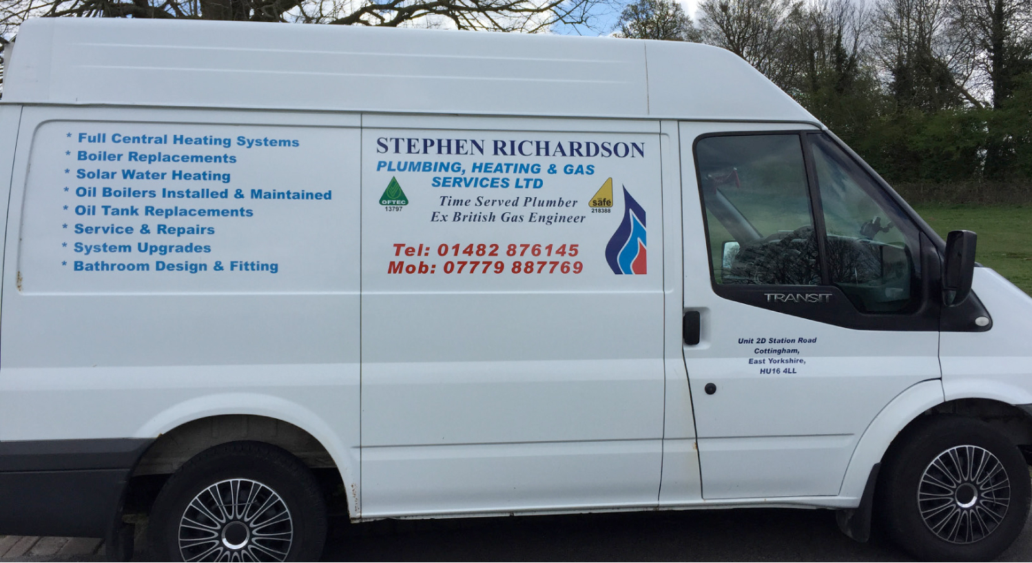 S Richardson Plumbing & Heating Services Cottingham